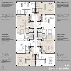 Amazing Picture of Tiny Apartment Layout . Tiny Apartment Layout Tiny Apartment Floor Plans Images And Photos Objects Hit Interiors Building Layout, Building Plans, Building Design, Residential Building Plan, The Plan, How To Plan, Apartment Layout, Apartment Design, Bedroom Apartment