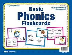 A Beka Book: Basic Phonics Flashcards—New Edition