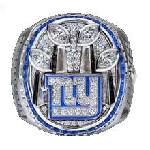 New York Giants 4 time Super Bowl Ring -  59.00 • Size 11 • Solid brass 10f15f08a