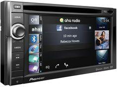 Pioneer Avic-F940BT - Nouveau système de navigation GPS intégré, plateforme multimédia, accès services internet connectés pour votre automobile !