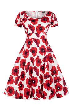 Červené Retro Šaty Blanka Straka Lady V London 50s Style Clothing, Vintage Style Outfits, Vintage Fashion, 50s Dresses, Dresses For Work, Rockabilly Looks, Sexy Outfits, Fashion Outfits, Lady V