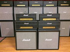 Marshall great amplifiers