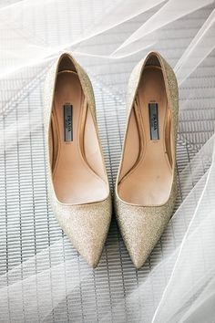 sparkling Prada #shoes Photography by melissaschollaertphotography.com  Read more - http://www.stylemepretty.com/2013/08/21/paradise-valley-arizona-wedding-from-melissa-schollaert-photography-victoria-canada-weddings-events/