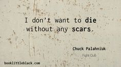 Chuck Palahniuk Quote from Fight Club