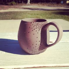 My new clay mug design @ the Coastal Arts Center of Orange Beach
