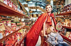"""""""Cinderella Haute Couture"""": Yulia Vasiltsova, Alexey Melnikov & Gabriel Shorok by Danil Golovkin for Numero Russia March 2013"""