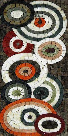 Phoenician Arts Mosaic w/smalti Mosaic Vase, Marble Mosaic, Mosaic Mirrors, Mosaic Tables, Mosaic Crafts, Mosaic Projects, Mosaic Ideas, Glass Wall Art, Stained Glass Art