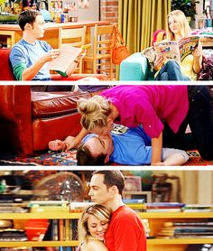 Penny and Sheldon.... I didn't think I shipped it until now.