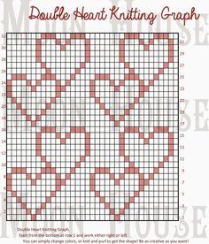Chart,knitting,heart,doublehearts,heart,hart,dbl heart,dbl hrt,houble heart…