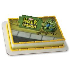 Marvel Avengers Incredible Hulk and the Agents of SMASH Cake Decoration Kit. Kit includes Incredible Hulk cake topper with multi-piece Hulk wall. Birthday Cake Decorating, Cake Decorating Supplies, Decorating Tools, Hulk Birthday Parties, 5th Birthday, Cupcakes Online, Hulk Cakes, Cake Kit, Cake Supplies