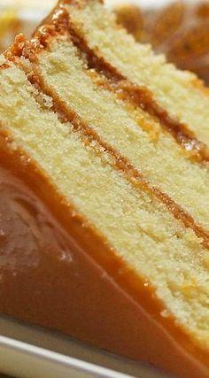 Real Deal Southern Caramel Cake
