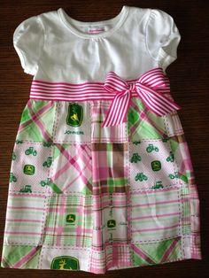 John Deere Dress on Etsy, $30.00
