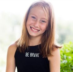 """Courage doesn't always roar. Sometimes it is the quiet voice at the end of the day saying """"I will try again tomorrow."""" @ba_gwendalynking You are one of the most courageous kind & inspiring girls that we know. Thank you for sharing your story with us. That in itself takes such courage. You are amazing & strong & so thoughtful! Thank you for who you are! Let your light shine bright because you have so much to offer the world! We love you! Beautiful photography by @kayleighblackphoto #bebrave…"""
