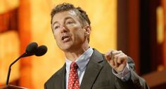 Although Rand Paul is a clueless twit, I guess he's considering running for President in 2016