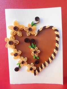 The 107 Best Quilling Hearts Images On Pinterest Quilling
