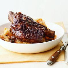 Beef Short Ribs with Potato-Carrot Mash by Martha Stewart