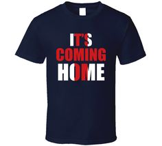 It's Coming Home England Football World Cup Soccer Sports Fan T Shirt It's Coming, Coming Home, Homes England, England Football, Soccer Sports, Shirt Price, World Cup, Shirt Style, Cool Designs