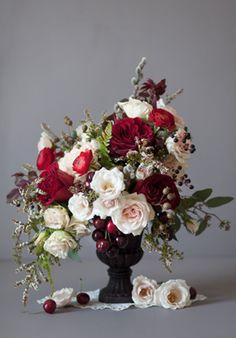 classic rose arrangement