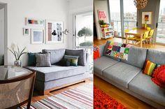 Como usar sofá cinza na decoração? 16 fotos para inspirar!