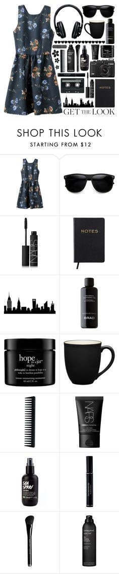 """""""Untitled #771"""" by nightlock ❤ liked on Polyvore featuring NARS Cosmetics, CASSETTE, BRAD Biophotonic Skin Care, SHAN, philosophy, Noritake, GHD, Christian Dior, Marc Jacobs and Living Proof"""