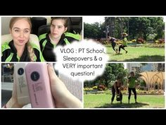 #FitMission : VLOG : Fitness School, Sleepovers & a VERY important question - YouTube