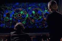 Logan's Run (1976). Sandmen and Runner tracking screen UI. #UI
