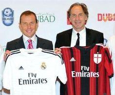 Real Madrid y AC Milán cerrarán el año jugando en Dubai