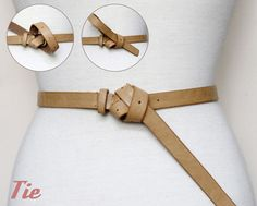 more ways to tie a long belt