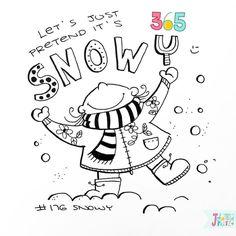Topic: Snowy- By Johanna Fritz Illustration