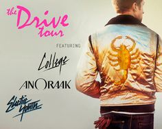 The Drive Tour Featuring College, Anoraak and Electric Youth (Official) 2012 Tour Dates Announced http://su.pr/7UoCA2