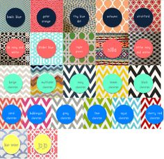patterns to design your own coasters