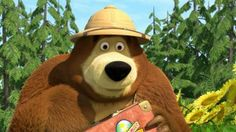 The Bear in Masha and The Bear