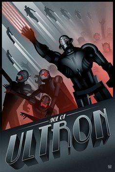 "Extinction || Ultron || by Pixel Earth || 667px x 1000px || #fanart || $65, 24"" x 36"""