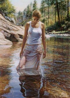 Steve Hanks by amalia