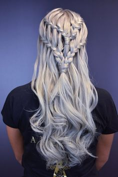 Become the Queen of Dragons With This Daenerys-Inspired Hairstyle