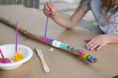 Talking Stick; create during Art Studio and use during MYC Mondays