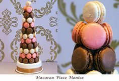 Macaroon Wedding Cake - from Sandrine French Pastry & Chocolates in Kelowna,BC
