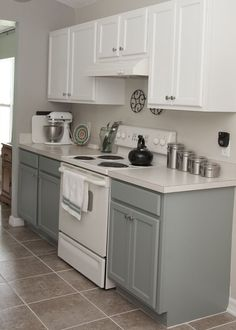 Image Result For White Kitchen Cabinets With Appliances