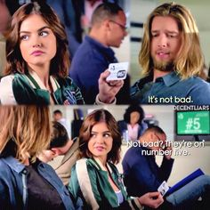 """""""The Wrath of Kahn"""" - Aria and Jason Pretty Little Liars Seasons, Pretty Litte Liars, Aria And Jason, Van Acker, Do You Miss Me, Lucy Hale, Movie Photo, Pll, Series Movies"""
