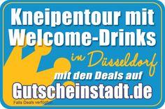 Kneipentour mit Welcome-Drinks in Düsseldorf mit Gutscheinstadt