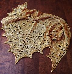 Wow! free shawl pattern on Ravelry