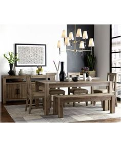 Avondale 6Pcdining Room Set Only At Macy's Dining Table 4 Fascinating Macys Dining Room Chairs Inspiration Design