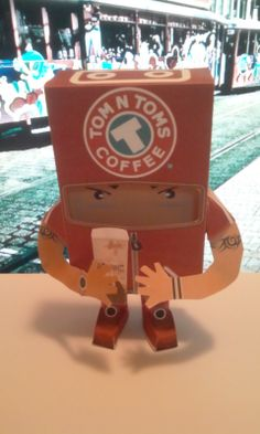 coffee paper toy9