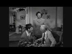 The Bachelor and the Bobby-Soxer (1947) - You Remind Me of a Man (I love this movie! Carrie Grant, Myrna Loy & Shirley Temple!)