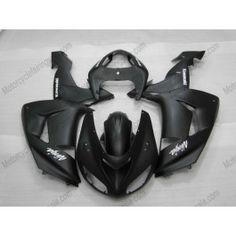 Kawasaki NINJA ZX10R 2006-2007 Injection ABS Fairing - Others - Black(matte) | $639.00