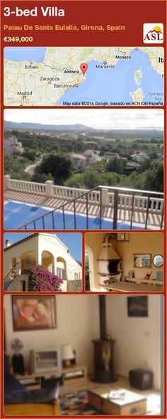 3-bed Villa in Palau De Santa Eulalia, Girona, Spain ►€349,000 #PropertyForSaleInSpain
