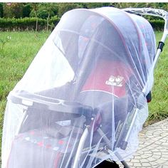 Baby Stroller Mosquito Mesh Net Infants Pushchair Insect Safe Protection Buggy Fly Midge Bug Cover♦️ SMS - F A S H I O N 💢👉🏿 http://www.sms.hr/products/baby-stroller-mosquito-mesh-net-infants-pushchair-insect-safe-protection-buggy-fly-midge-bug-cover/ US $1.69