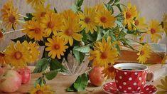 PENTRU O ZI MINUNATĂ! Still Life, Good Morning, Plants, Painting, Art, Buen Dia, Art Background, Bonjour, Painting Art