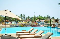 Acron Waterfront Resort, Goa #akanksharedhu