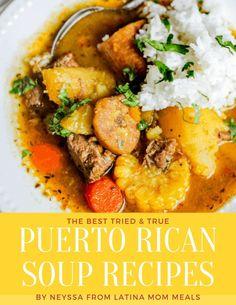 Puerto Rican Soup Recipe, Puerto Rican Chicken Stew, Puerto Rican Dishes, Puerto Rican Recipes, Cuban Recipes, Soup Recipes, Cooking Recipes, Sancocho Recipe Puerto Rican, Latin Food Recipes